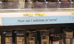 How can I exfoliate at home?