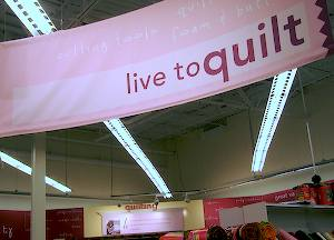 Live to quilt