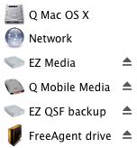 finder disk icons