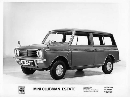 old mini clubman