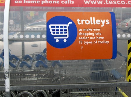 To make your shopping trip easier we have 13 types of trolley