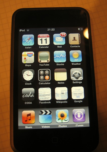 iTouch icons