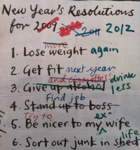 New Year\'s Re-resolutions | Status-Q