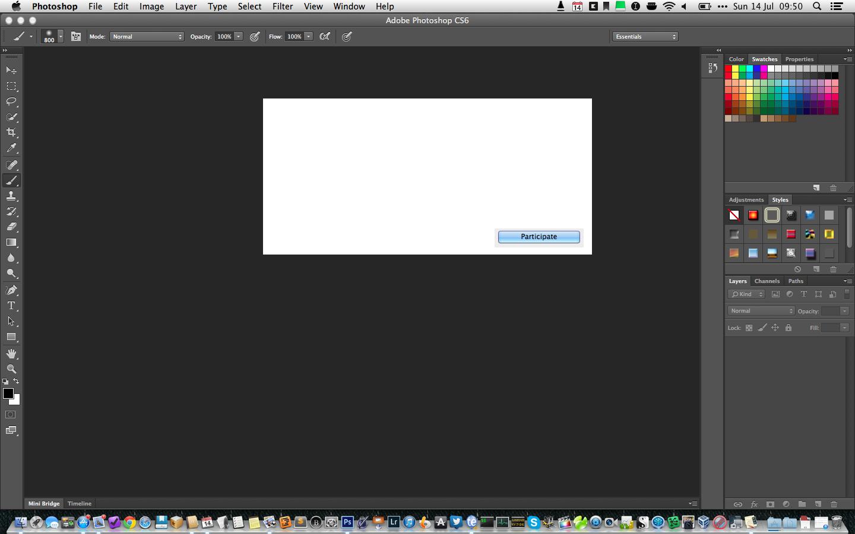 Main Reasons behind Adobe Photoshop CS6 Crash: